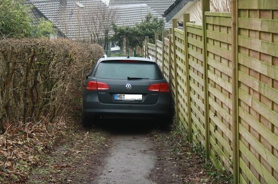 Sauber eingeparkt!